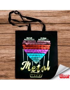 Metal - Vinilo térmico...